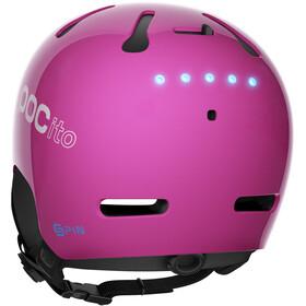 POC Kids POCito Auric Cut Spin Helmet Fluorescent Pink
